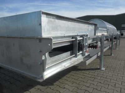 Transport von Förderbändern für Industrieanlagen vom Hersteller Zuther