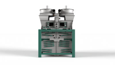 3d graphic of the grain cleaning machine Optima by Zuther