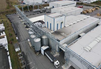 Industrie Anlage mit Schüttguttechnologie von Zuther