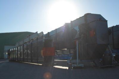 Becherwerk für den Transport vorbereitet, Schüttguttechnologie für Industrieanlagen von Zuther