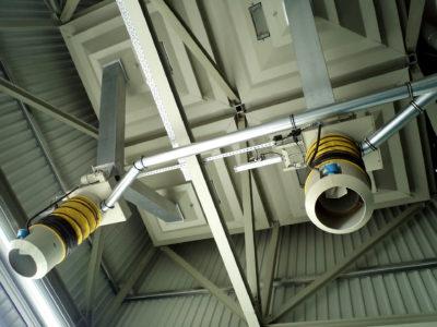 Zuther Verladeanlage mit Verladezellen inklusive teleskopierbarem Verladebalg
