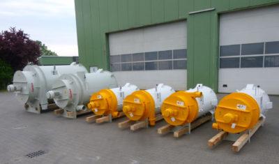 Two big und four grain cleaner Vortex ready to transportation