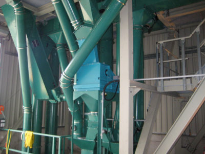 Weighing technology by Zuther in a bulk plant to control up to 1000 tons of bulk material an hour